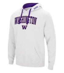 colosseum washington huskies men's arch logo hoodie