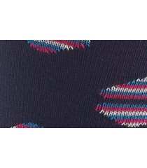men's ted baker london dot socks, size one size - blue