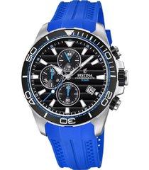 reloj azul festina