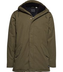 thermore padded parka olive ni parka jas groen levi´s men