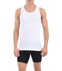 men's tommy john second skin tank undershirt, size small - white