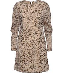 vialtas l/s dress kort klänning beige vila