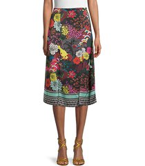 athena floral skirt