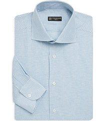 regular-fit pinstripe dress shirt