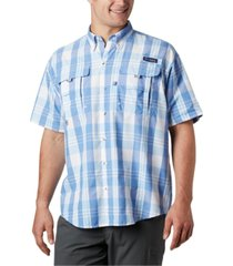 columbia men's big & tall super bahama short-sleeve shirt