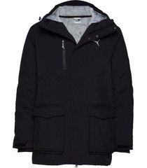 epoch storm down jacket parka jas zwart puma
