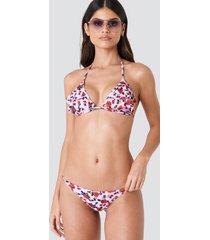 j&k swim x na-kd thin side bikini brief - pink