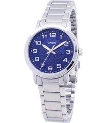 ltp-e159d-2b reloj dama azul analogo
