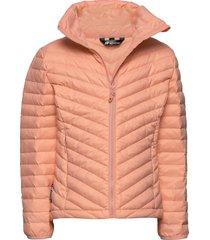 hauknes light down jacket gevoerd jack roze skogstad