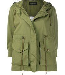 plisse' field jacket