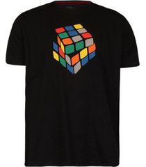 camiseta khelf cubo mágico preto