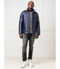 abrigo para caballero azul calvin klein