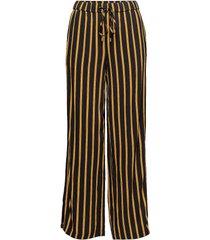 striped pants with slits vida byxor multi/mönstrad saint tropez