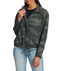 splendid women's ford camo jacket - camo - size xl