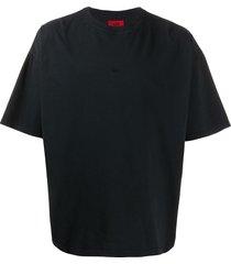 424 oversized cotton t-shirt - black