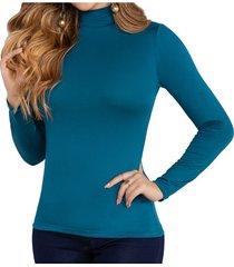 blusa iron verde para mujer croydon