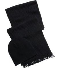 alfani men's beanie & scarf gift set, created for macy's