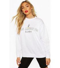 disney donald duck los angeles sweater, white