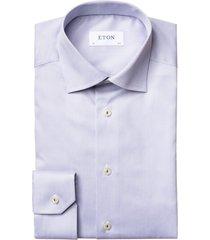 eton shirt grijs contemporary fit