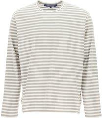 junya watanabe striped long-sleeved t-shirt