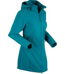 parka in softshell (petrolio) - bpc bonprix collection
