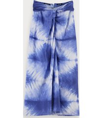 scotch & soda tie dye midi skirt