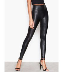 spanx faux leather leggings shaping & support