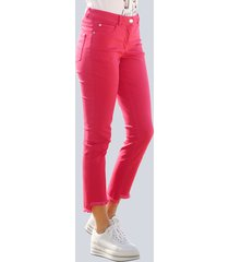 jeans alba moda rood