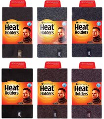 heat holders - mens winter fleece insulated snood scarf thermal tube neck warmer