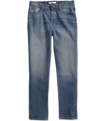 tommy hilfiger adaptive men's hamilton relaxed jeans with magnetic fly