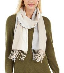 calvin klein ombre woven scarf