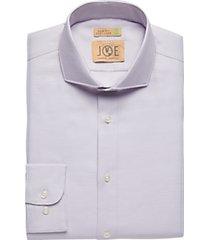 joe joseph abboud berry diamond slim fit dress shirt