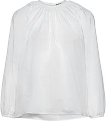 assembly shirt blus långärmad vit hope