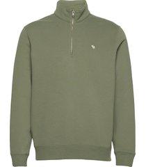 anf mens sweatshirts sweat-shirt tröja grön abercrombie & fitch