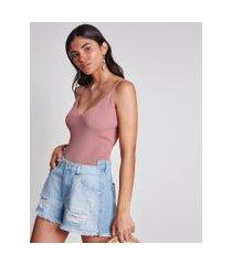 lez a lez - shorts miami cós assimétrico jeans