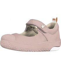 sandalia cuero prewalker rosa