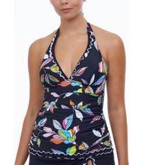 profile by gottex monaco halter tankini top women's swimsuit