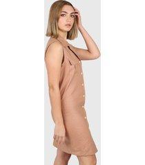 vestido camel montjuic cirella