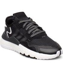 nite jogger j låga sneakers svart adidas originals