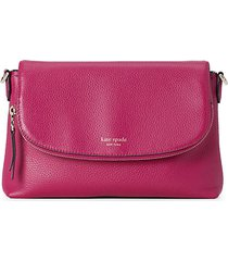 large polly leather crossbody bag