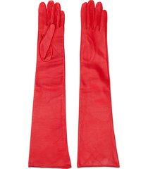 manokhi textured style long gloves