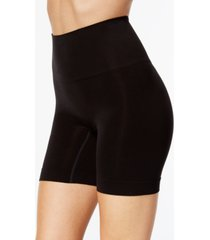 spanx women's everyday shaping panties mid-thigh short 10149r