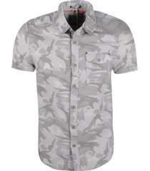 mz72 heren korte mouw overhemd carlito camouflage -