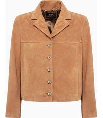 a.p.c. veste nico jacket pxbkv-f02504