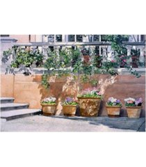 "david lloyd glover brentwood park canvas art - 15"" x 20"""