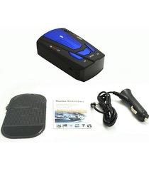 coche 16 bandas de alerta de voz v7 pantalla led seguridad gps detector de radar de velocidad