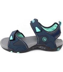 sandalias de mujer o.p. borabora- azul