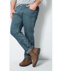 fodrade jeans men plus blue stone