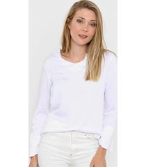 blusa blanca etam perla