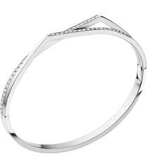 antifer 2 row pave diamond bracelet
